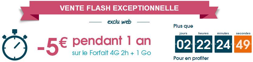 Vente flash 1 Go Bouygues