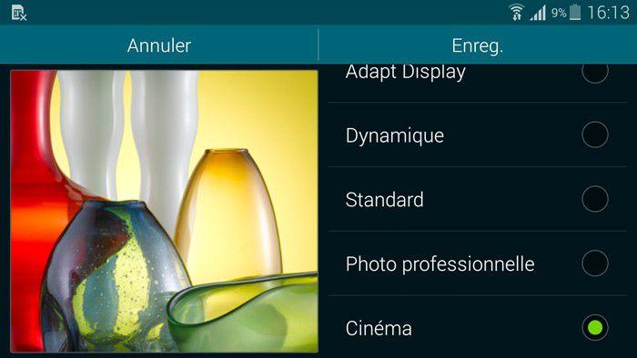 Samsung modes