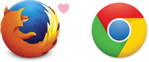 Firefox loves Chrome