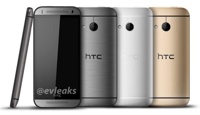 Visuel en fuite du HTC One mini 2
