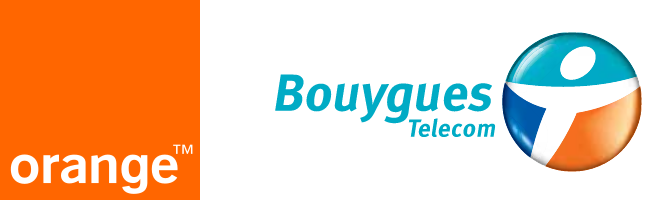 Orange et Bouygues logo 200