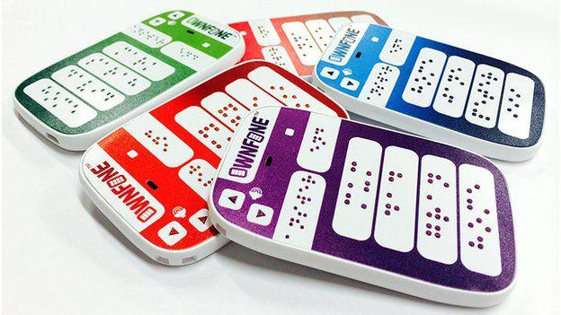 Ownfone braille