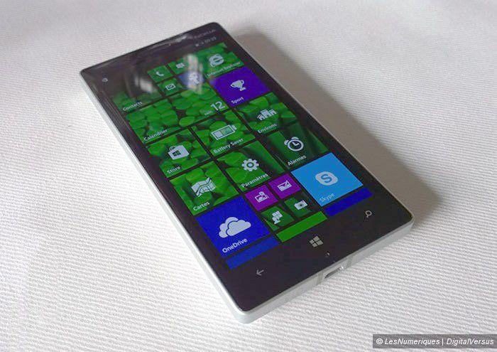 Prise en main nokia lumia 930 1 2