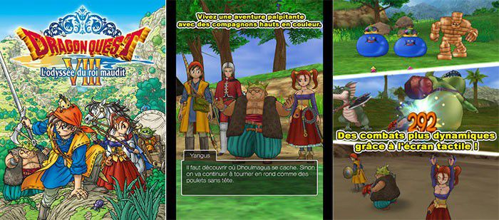 Dragon Quest VIII disponible sur iOS et Android