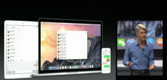 Live Apple WWDC 2014 conti