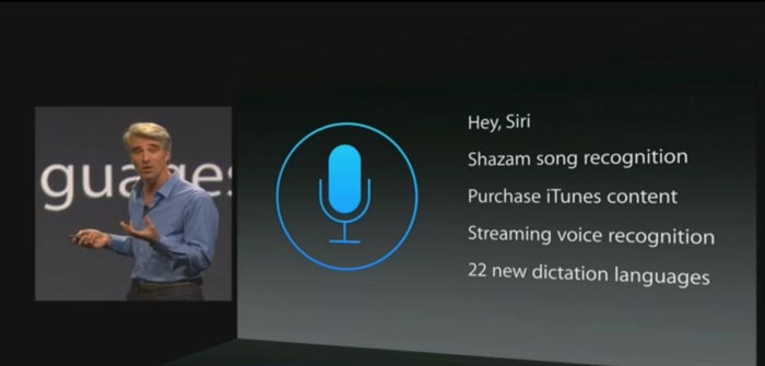 Live Apple WWDC siri