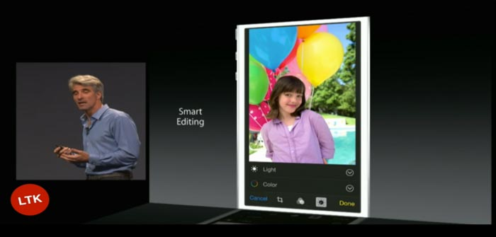 Live Apple WWDC smart edit