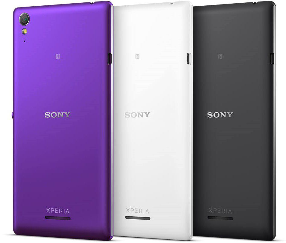 Xperia T3 colors