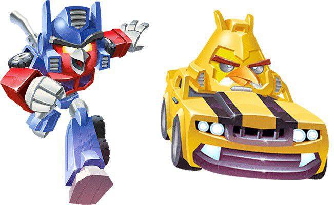 Optimus Prime et Bumblebee