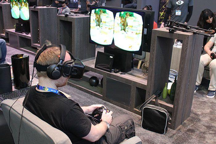 E3 2014 Oculus Rift DK2 Lucky s Tale Demo