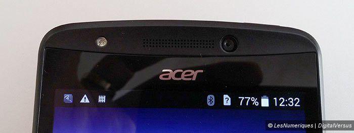 Prise en main du Acer Liquid E700