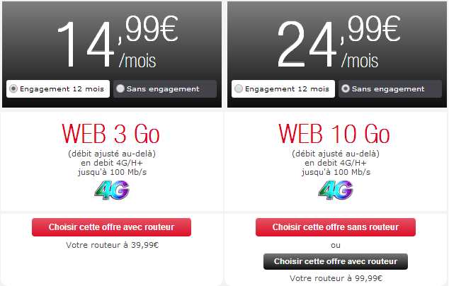 NRJ Mobile 4G pocket
