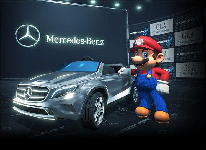 Mario Kart 8 Mercedes Benz