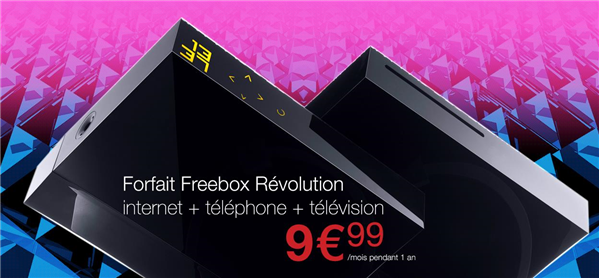 Freebox Revolution 9 99