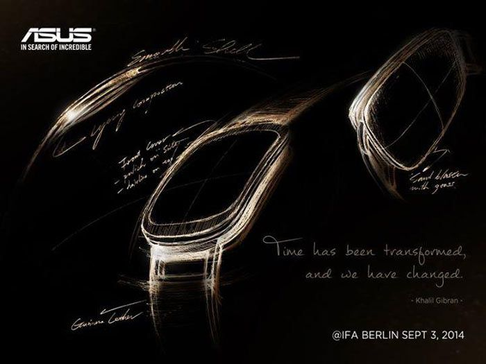Asus wearable sketch
