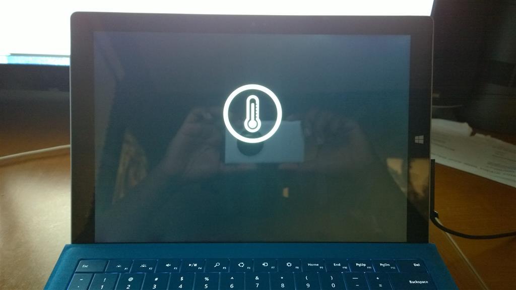 Surface Pro 3 Surchauffe
