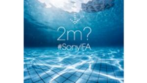 Deux mètres d'immersion pour les terminaux Sony