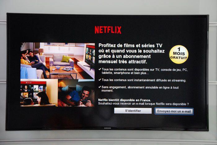 Netflix smartTV