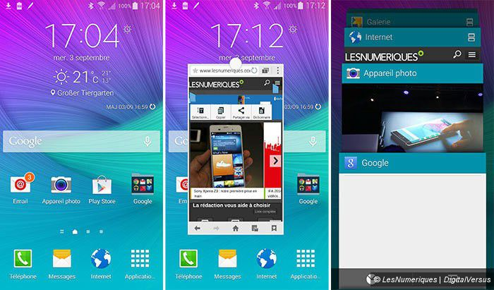 Prise en main du Samsung Galaxy Note 4