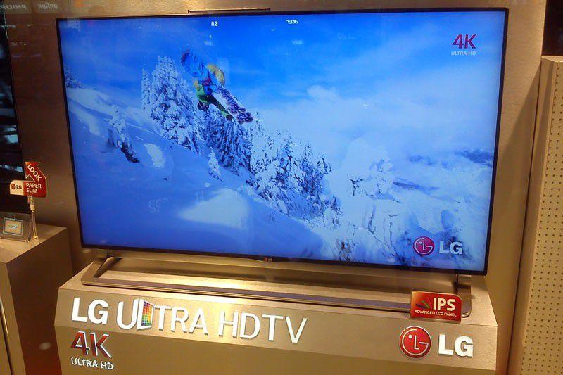 TV 4K LG