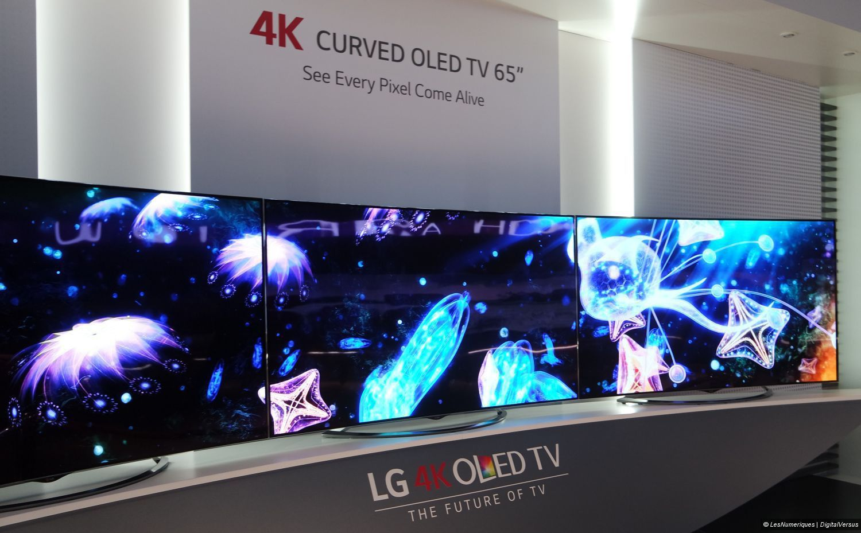 ifa lg lancera ses tv oled 4k au prix des lcd haut de gamme rivaux. Black Bedroom Furniture Sets. Home Design Ideas