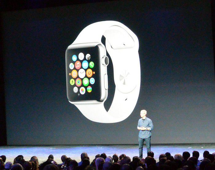 Apple iwatch scene