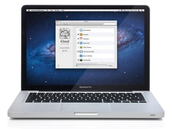 Icloud macbook