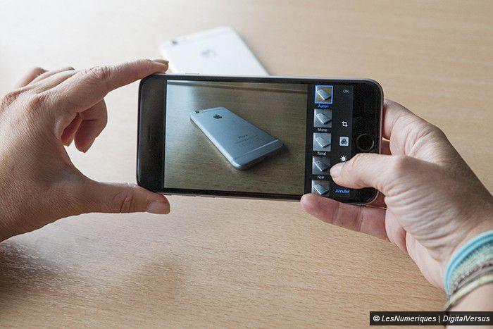 IPhone 6 plus interface photo 2