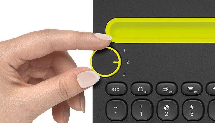 Clavier Logitech Bluetooth Multi-Device Keyboard K480