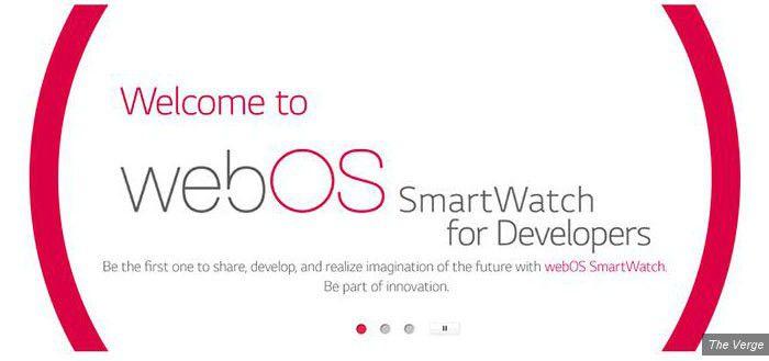 Lg watch webos