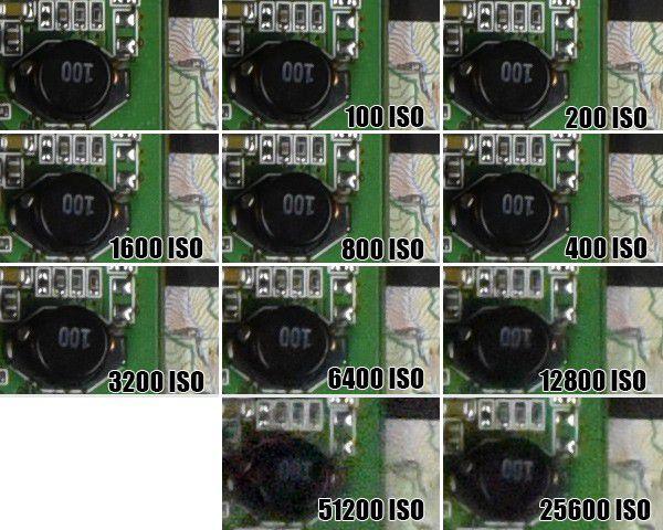 Nikon D750 ISO 10 LMDN(25600)