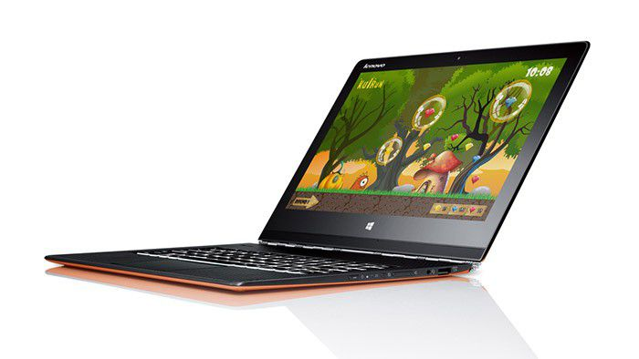 Lenovo Yoga 3 Pro 002, mode ordinateur portable