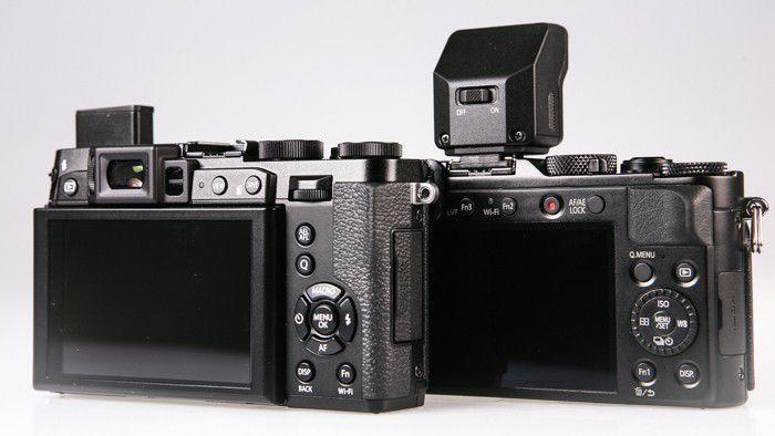 Panasonic Lumix LX100 Fujifilm Finepix X30 LesNumeriques 8