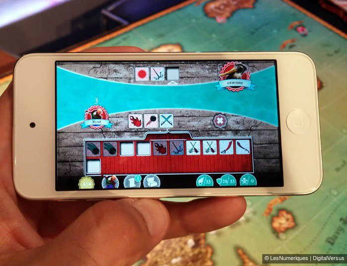 World of Yo-Ho, exemple d'écran sur smartphone, studio Volumique