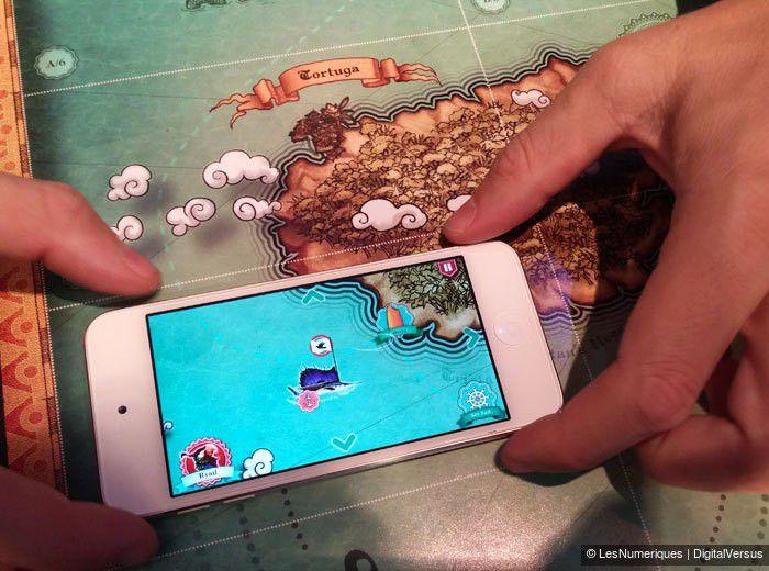 World of Yo-Ho, jeu de plateau avec réalité augmentée, studio Volumique