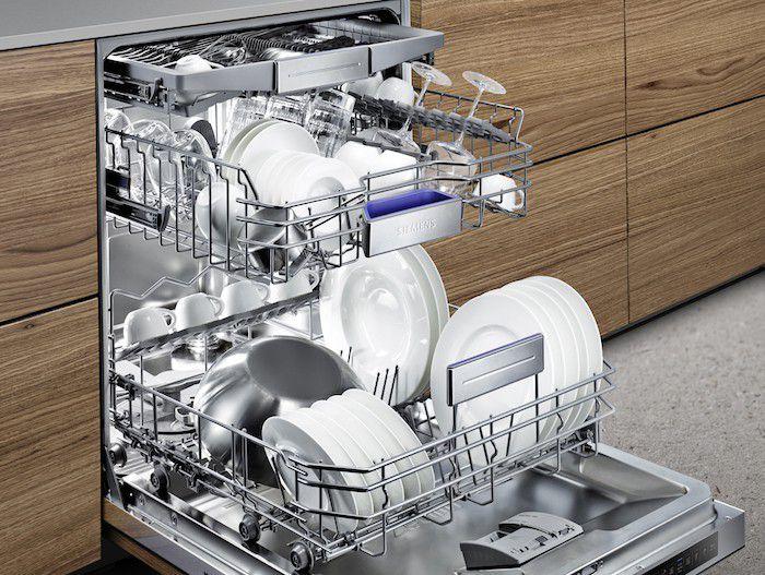 Siemens lave v ouvert iQ700