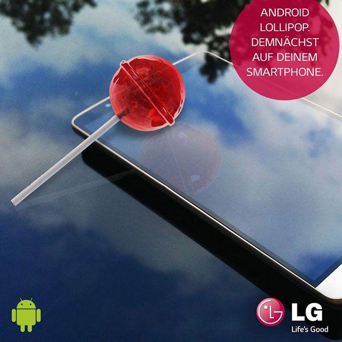 LG G3 et LG G2 sous Android 5.0 Lollipop