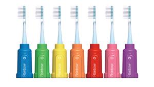 Rainbow, une brosse à dents connectée pour enfant très ingénieuse