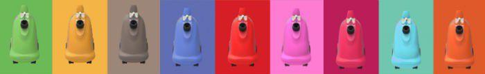 SteamOne H8S Color, les 9 coloris