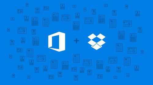 BLOG Office Dropbox Blue Blog