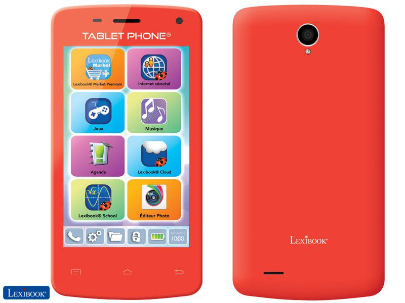 Lexibook Tablet Phone Rouge