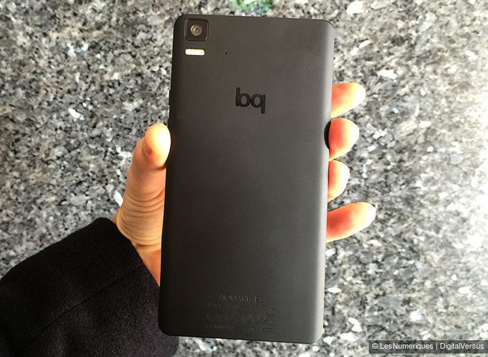 Prise en main du bq Aquaris E5 4G