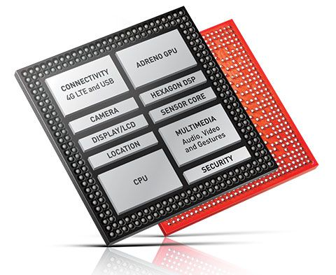 Retard qualcomm snapdragon 810