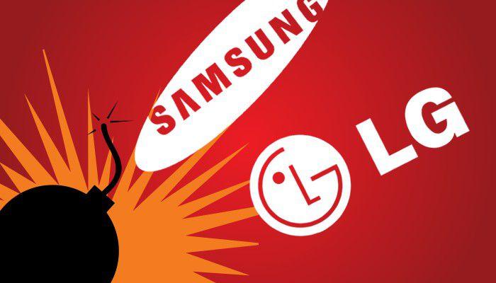 Conflit LG Samsung, des machines à laver vandalisées