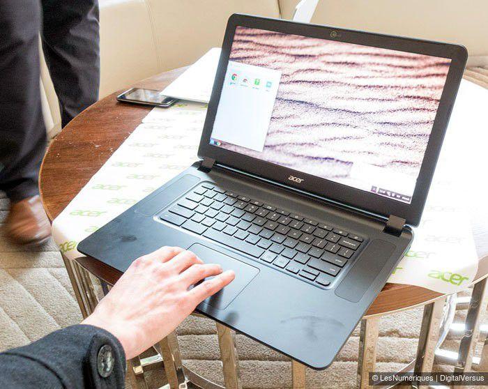 CES 2105 Acer Chromebook 15