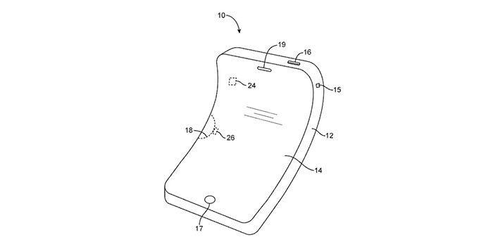 Brevet pour iPhone flexible déposé par Apple