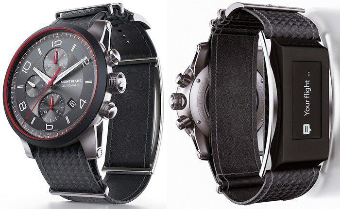 Montblanc e-strap montre