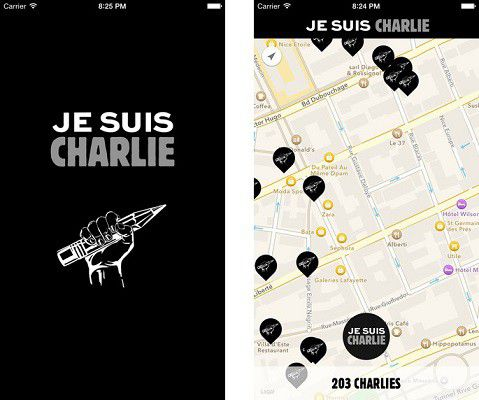 Je suis Charlie Screens