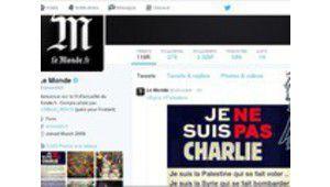 Le compte Twitter du Monde piraté par l'Armée électronique syrienne