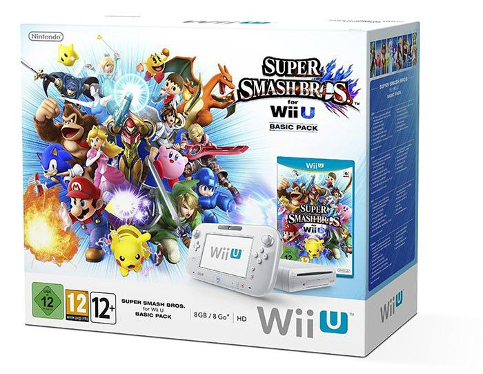 Wii U Pack Super Smash Bros 700px